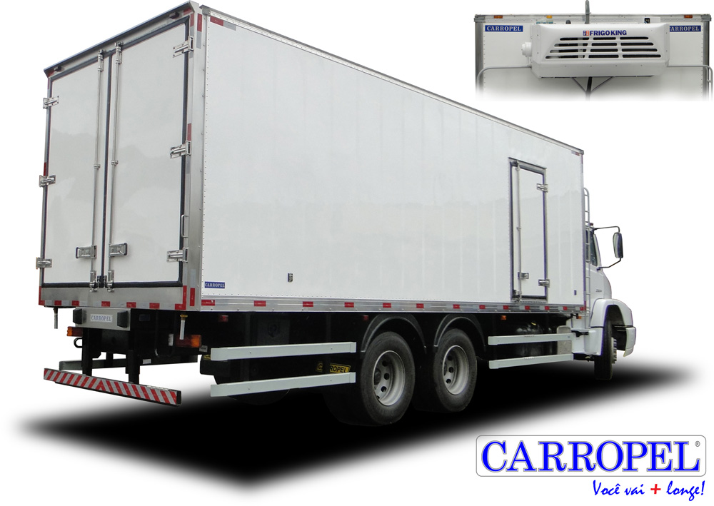 isotermico mercedes truck